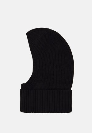 REST HOOD - Gorro - black