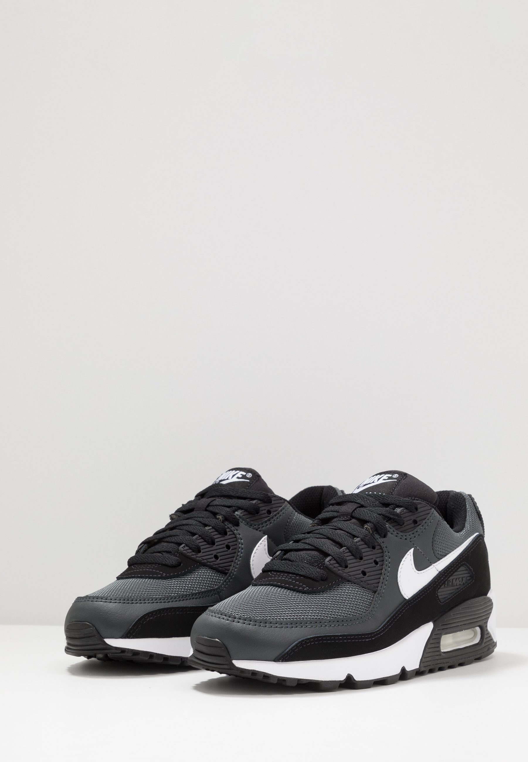 AIR MAX 90 Sneakers blackwhitemetallic silver