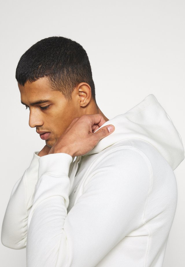 PREMIUM CORE hooded long sleeve - Hoodie - milk