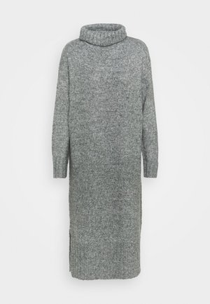 ROLL NECK DRESS - Jumper dress - dark grey