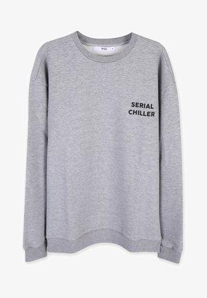 SERIAL CHILLER - Sweatshirt - light grey