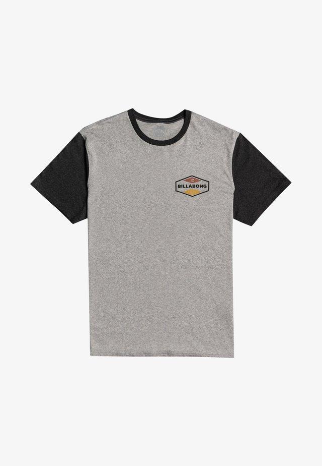 Print T-shirt - grey heather
