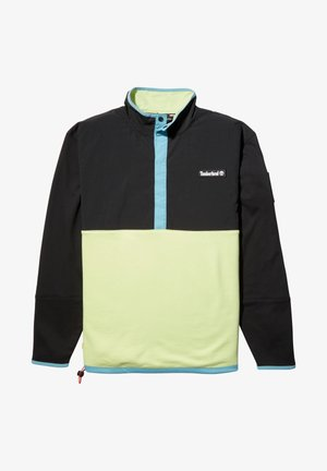 ARCHIVE OVERHEAD HYBRID - Sweatshirt - black/luminary green