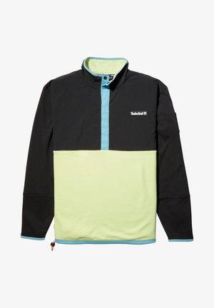 ARCHIVE OVERHEAD HYBRID - Sweater - black/luminary green