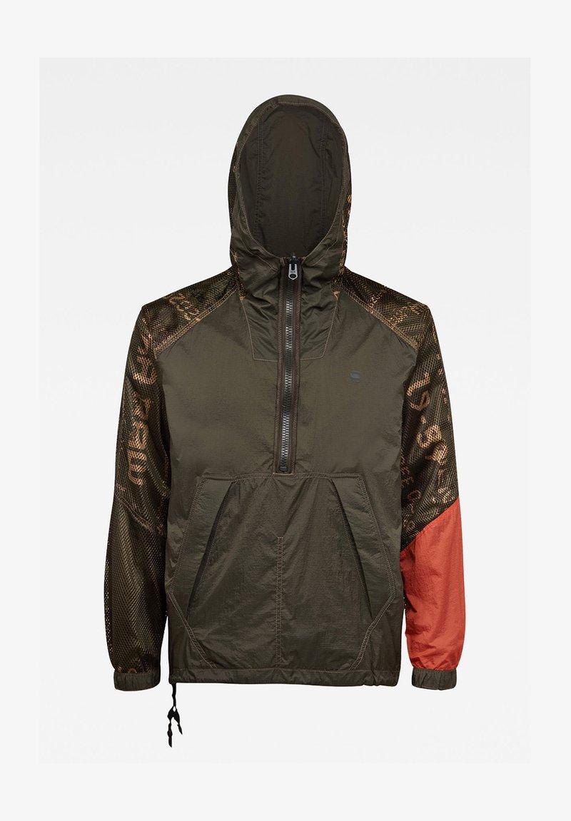 G-Star - REVERSIBLE ANORAK - Light jacket - combat