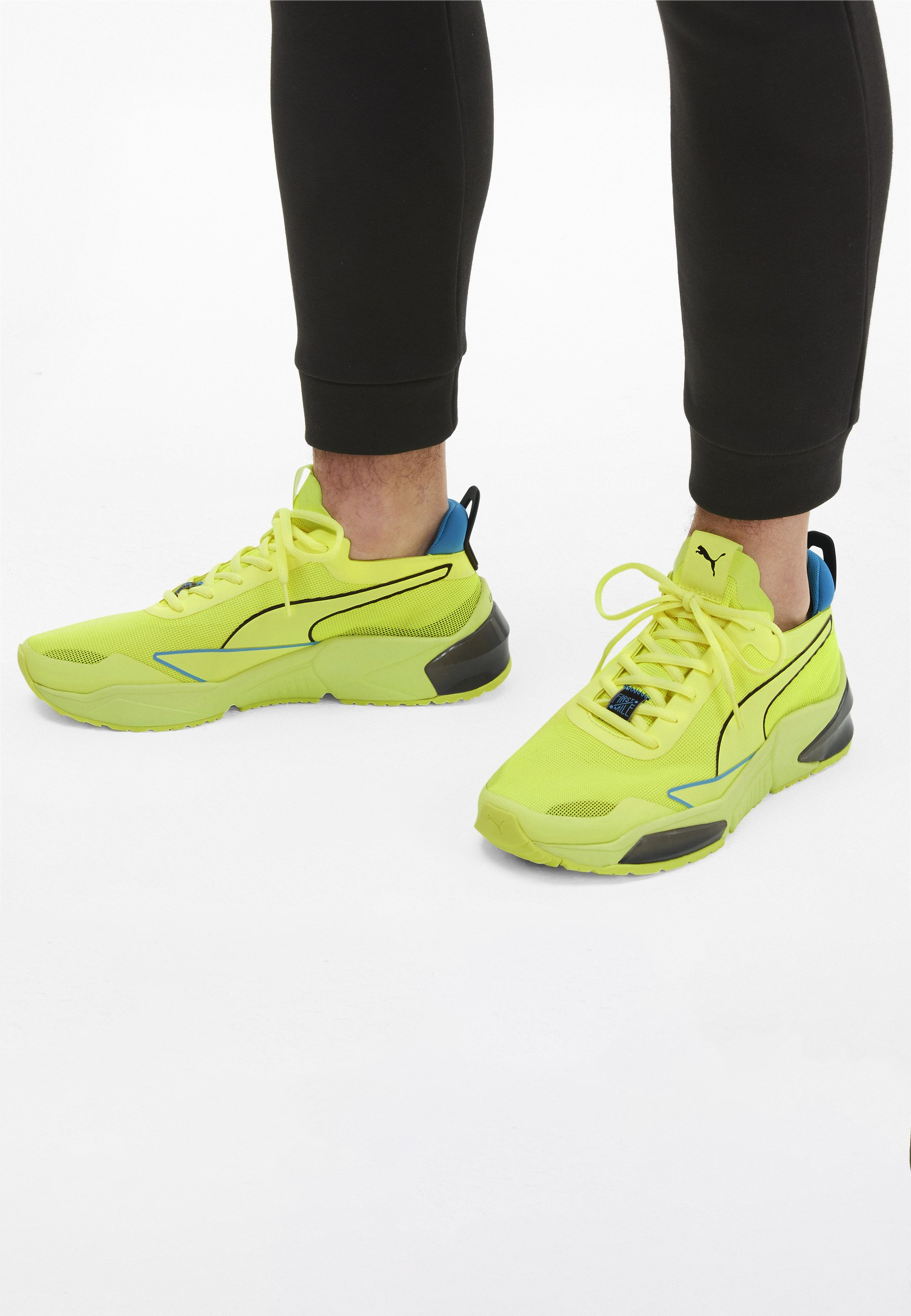 Puma Chaussures de running stables - fizzy yellow-puma black-nrgy ...