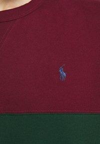 Polo Ralph Lauren - Sweatshirt - bordeaux/dark green/dark blue - 7