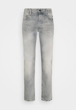 BLEID SLIM - Slim fit jeans - destroyed denim