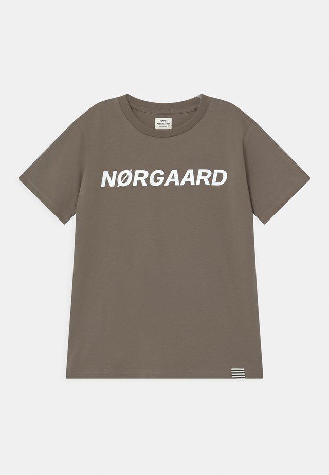 TEE THORLINO UNISEX - Print T-shirt - morel