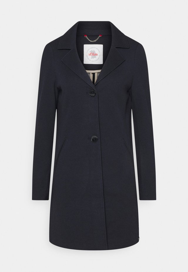 Classic coat - navy melange