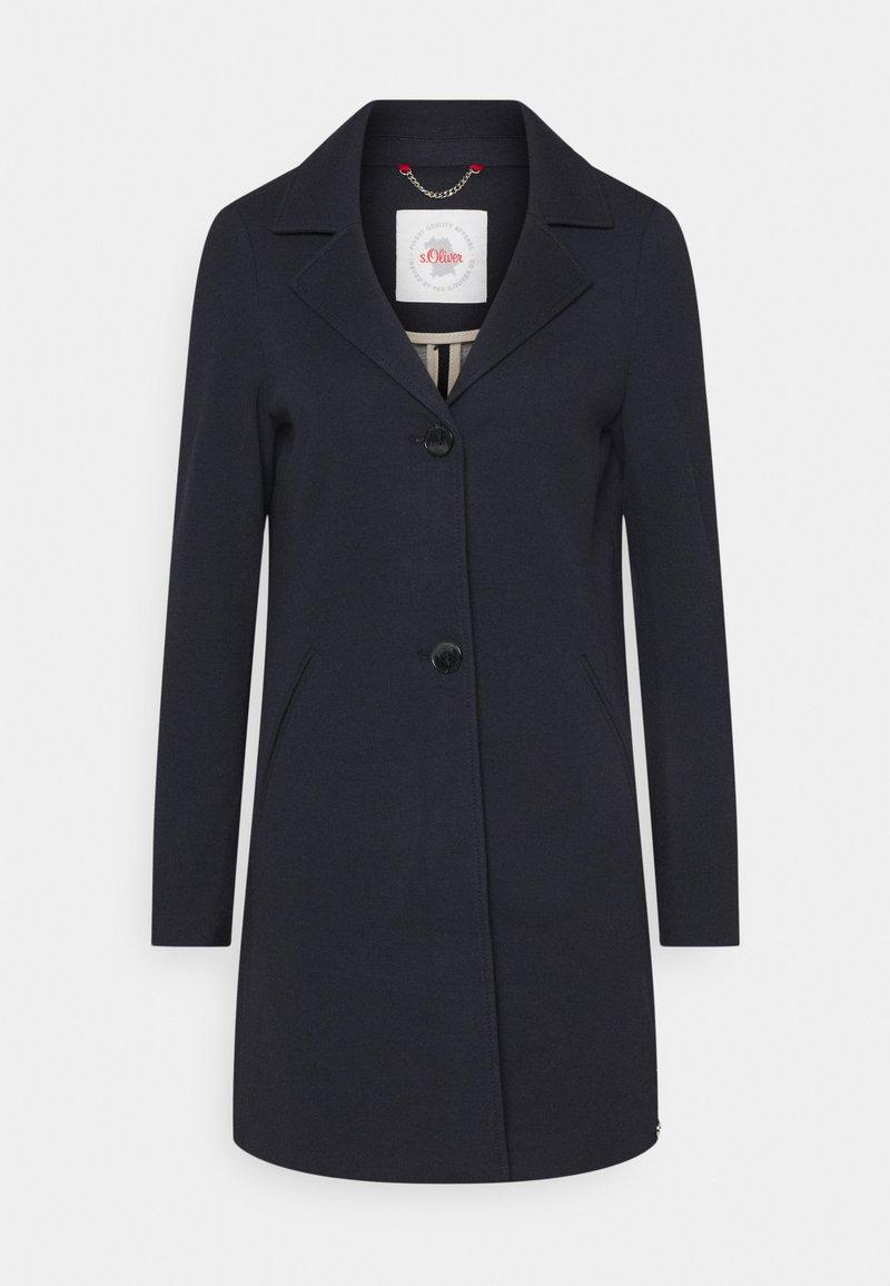 s.Oliver - Klasyczny płaszcz - navy melange