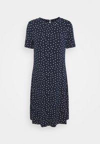 Marks & Spencer London - SPOT SWING - Žerzejové šaty - dark blue - 0