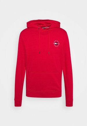 CIRCLE CHEST HOODY - Hoodie - primary red