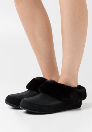 GO COFFEE RUN - Slippers - black