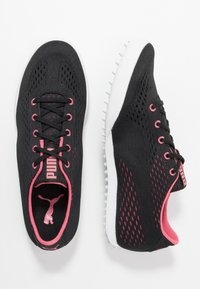 Puma Golf - MONOLITE CAT EM - Chaussures de golf - black/rapture rose - 1