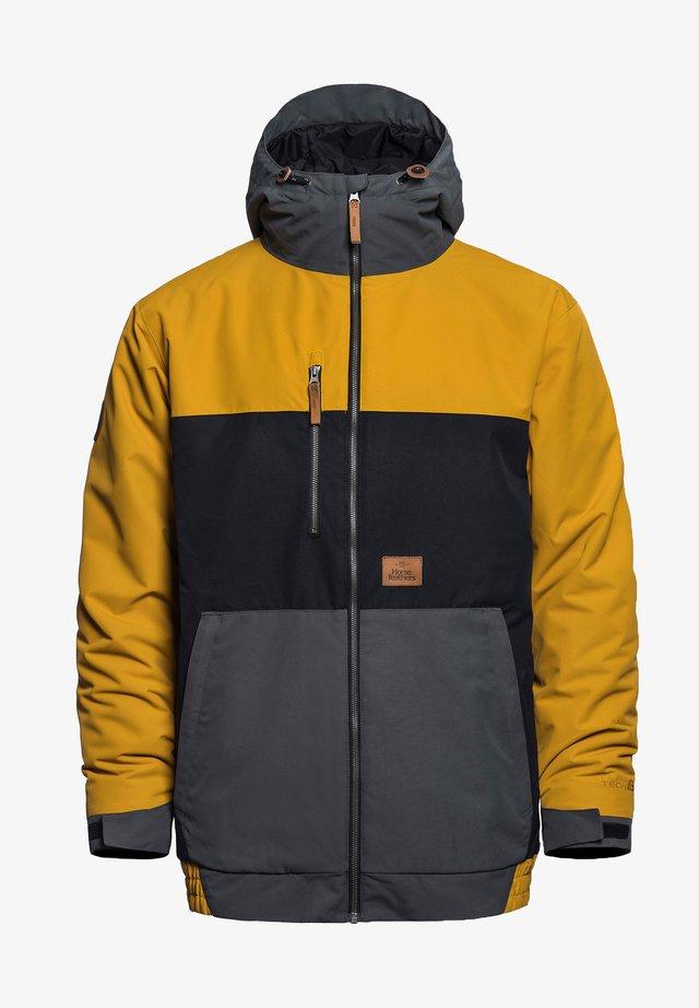 REVEL - Snowboardjas - golden yellow