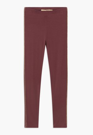 PAULA - Leggings - Trousers - oxblood red