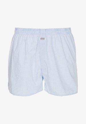 Boxershorts - shirting blue