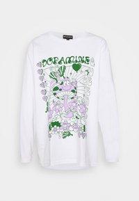 NEW girl ORDER - DOPAMINE TOP - Long sleeved top - white - 4