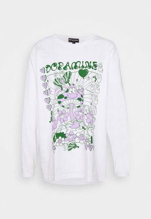 DOPAMINE TOP - Topper langermet - white