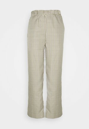 PYNNE - Trousers - ivory cream
