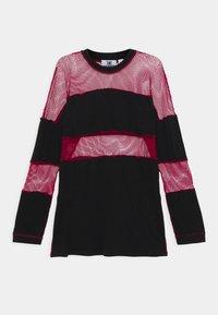 The Ragged Priest - FISHNET SKATER DRESS - Jersey dress - black/red - 7