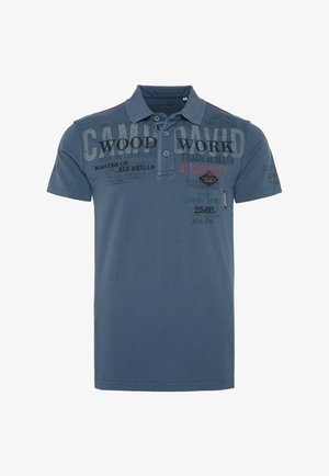 Polo shirt - blue grey