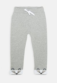 Name it - NBMNORRE PANT BABY - Trousers - grey melange - 0