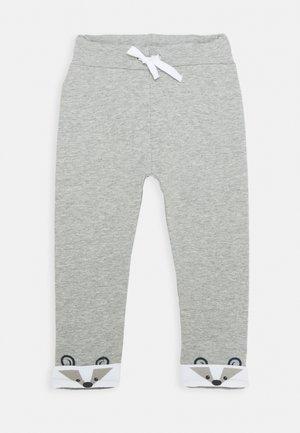 NBMNORRE PANT BABY - Trousers - grey melange