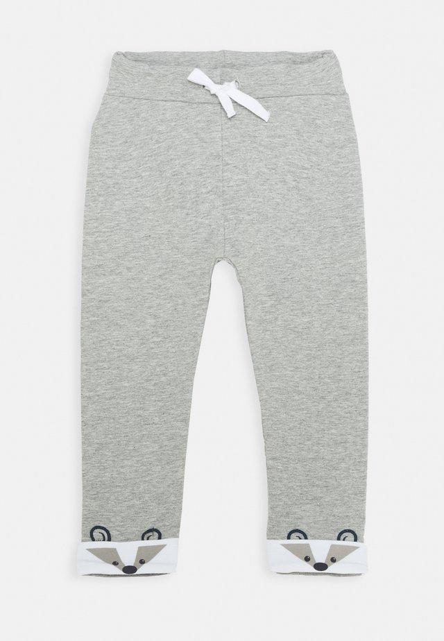 NBMNORRE PANT BABY - Pantaloni - grey melange