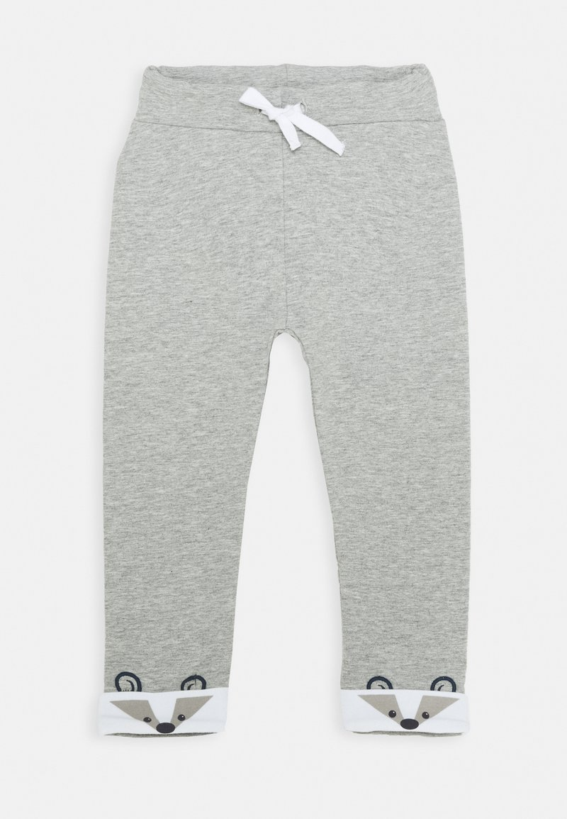 Name it - NBMNORRE PANT BABY - Trousers - grey melange