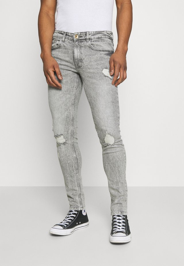 STOCKHOLM DESTROY - Jeans Skinny - dust grey