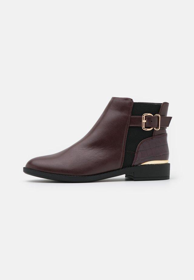 MILA JODPHUR  - Kotníková obuv - burgundy