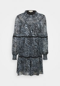 MICHAEL Michael Kors - ZEBRA TENTY MINI DRESS - Day dress - chambray - 4