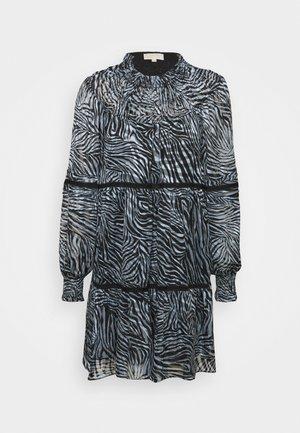 ZEBRA TENTY MINI DRESS - Jurk - chambray