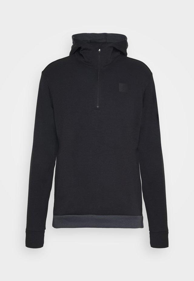 ADICROSS HOODIE - Bluza z kapturem - black