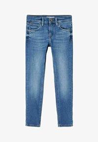 Name it - Straight leg jeans - medium blue denim - 0