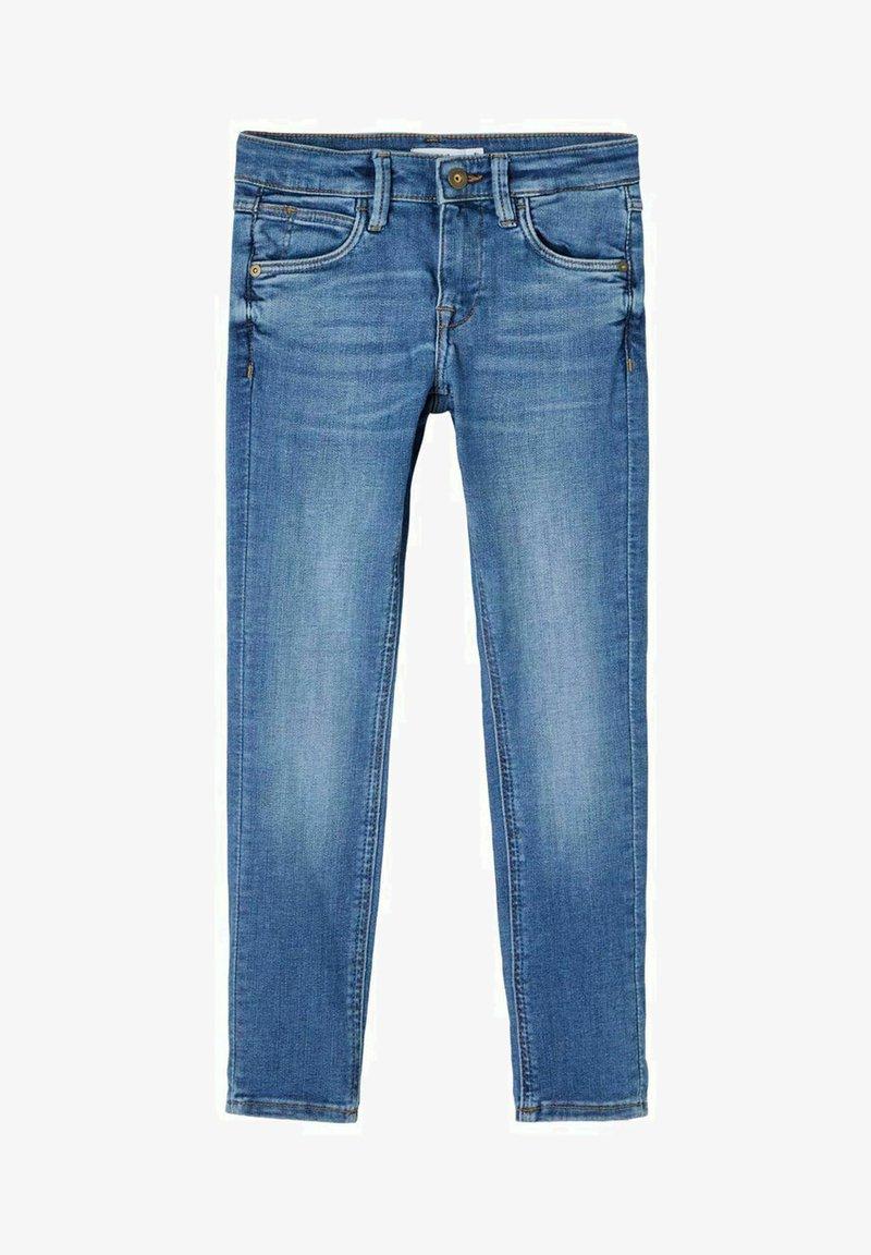 Name it - Straight leg jeans - medium blue denim