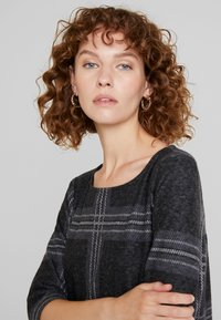 Esprit - SWEAT DRESS - Gebreide jurk - black - 4