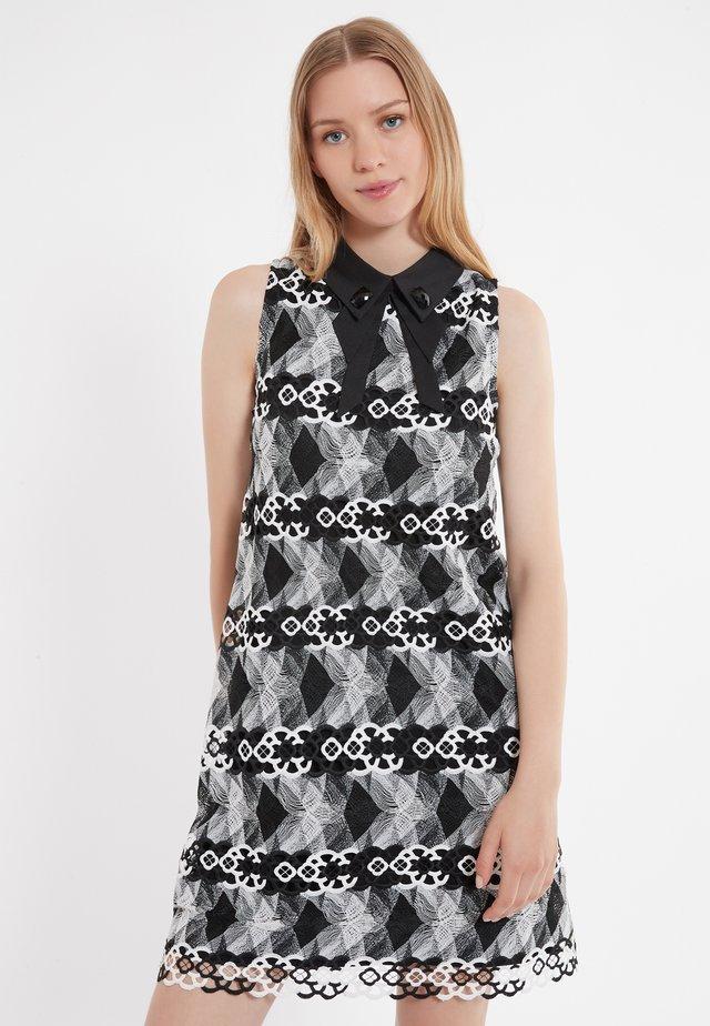 Robe d'été - Black/white