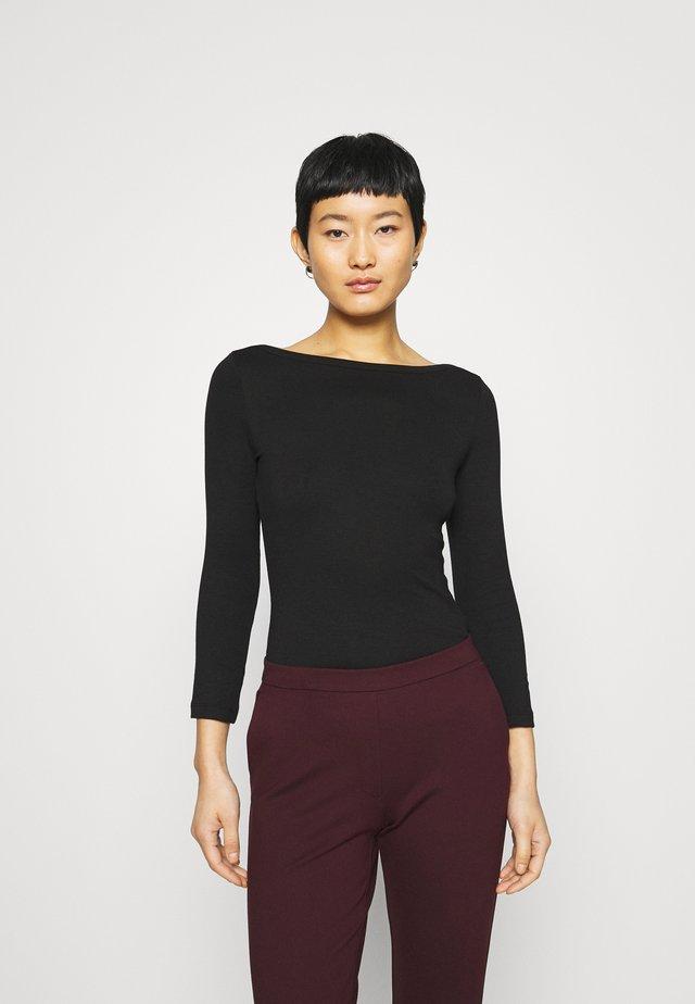 PREMIUM 3/4 Sleeve - Long sleeved top - black