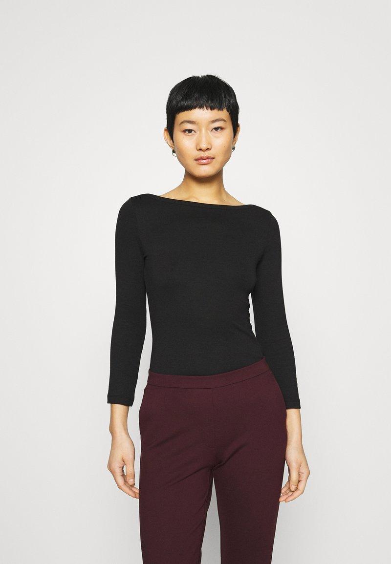 Zign - PREMIUM 3/4 Sleeve - Long sleeved top - black