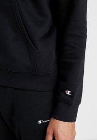 Champion - HOODED - Hættetrøjer - black - 5