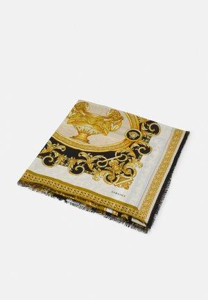 BAROCCO SHAWL UNISEX - Foulard - bianco/oro/kaki