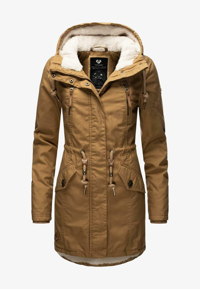 Winter coat - tabacco