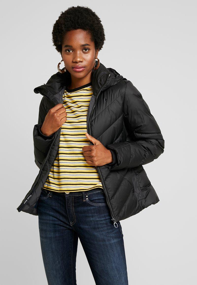 G-Star - WHISTLER SLIM - Down jacket - dk black