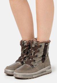 TOM TAILOR - Winter boots - mud - 0