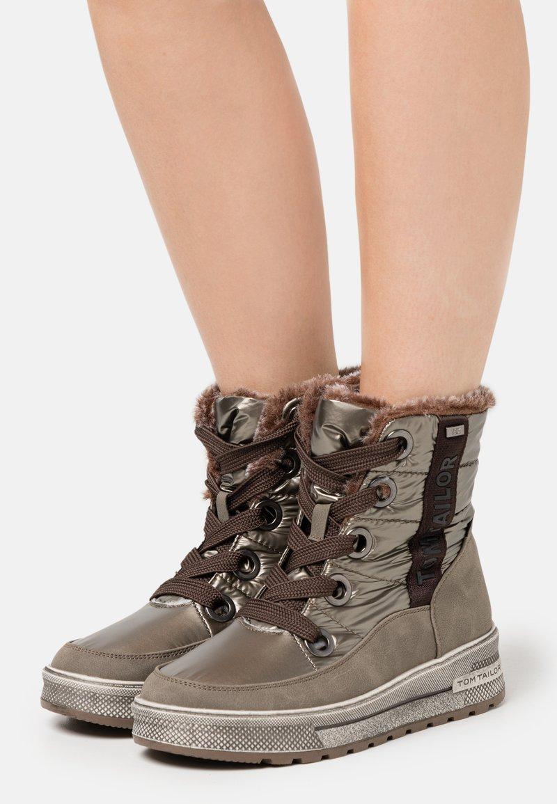 TOM TAILOR - Winter boots - mud