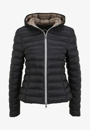 BERGEN - Winter jacket - black/iced coffee