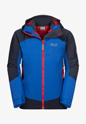 ROPI 3IN1 - Soft shell jacket - coastal blue